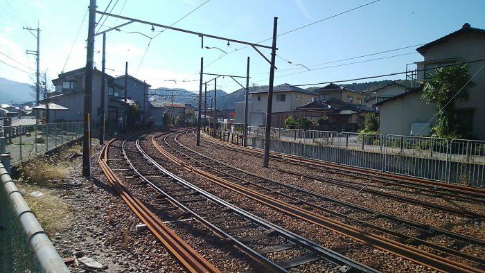 鶴来駅付近