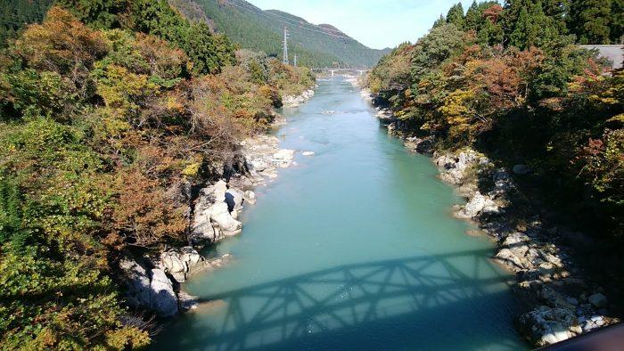 金名橋からの手取川