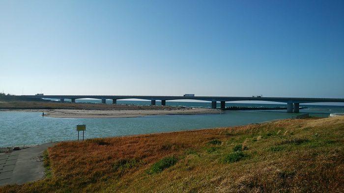 手取川河口付近