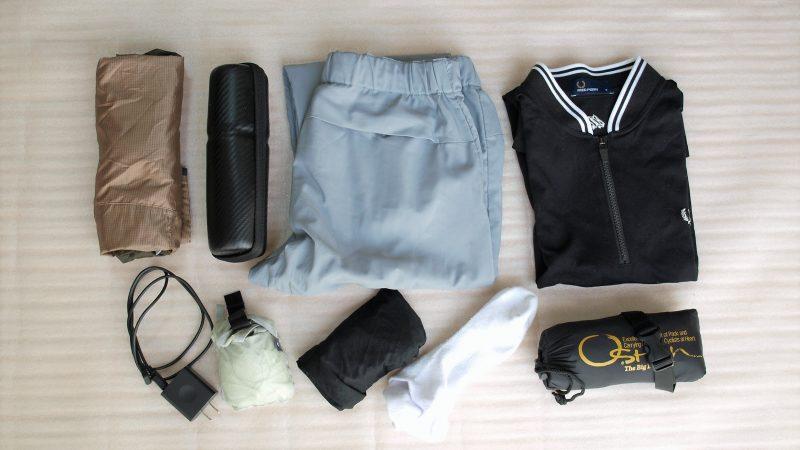 夏場の想定お荷物