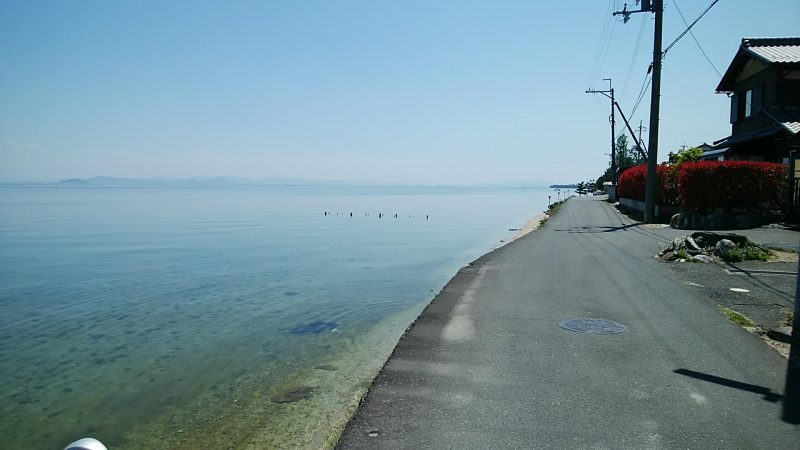 水辺の生活道路