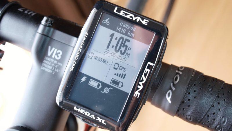 Lezyne Mega Xl GPS と接続