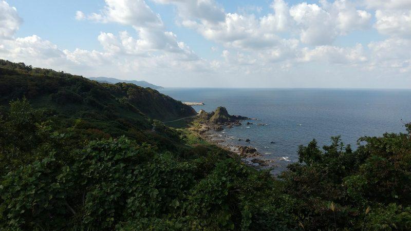 椿の断崖展望台